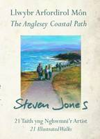 Llwybr Arfordirol Mon/The Anglesey Coastal Path (Paperback)