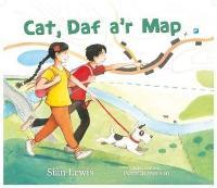 Cat, Daf a'r Map (Paperback)