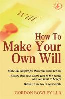 How To Make Your Own Will, 4th Ed (Paperback)