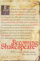 Becoming Shakespeare (Hardback)