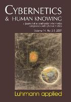 Luhmann Applied - Cybernetics & Human Knowing (Paperback)