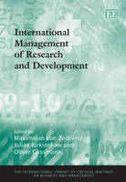 International Management of Research and Development - The International Library of Critical Writings on Business and Management 11 (Hardback)