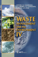 Waste Management and the Environment - WIT Transactions on Ecology and the Environment v. 109 (Hardback)