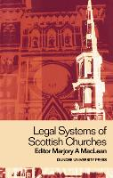 Legal Systems of Scottish Churches