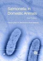 Salmonella in Domestic Animals (Hardback)