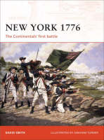 New York 1776: The Continentals First Battle - Campaign No. 192 (Paperback)