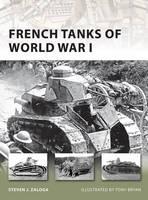 French Tanks of World War I - New Vanguard (Paperback)
