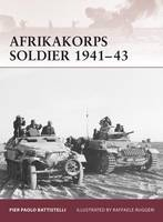 Afrikakorps Soldier 1941-43 - Warrior No. 1 (Paperback)