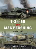 T-34-85 Vs. M26 Pershing: Korea 1950 - Duel No. 32 (Paperback)