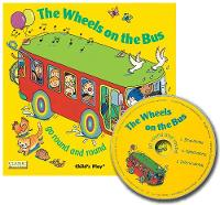 The Wheels on the Bus go Round and Round - Classic Books with Holes Giant Board Book