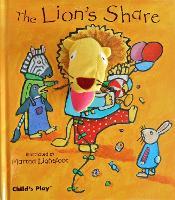 The Lion's Share - Finger Puppet Books (Hardback)