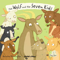 The Wolf and the Seven Little Kids - Flip-Up Fairy Tales (Paperback)