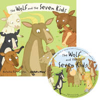 The Wolf and the Seven Little Kids - Flip-Up Fairy Tales