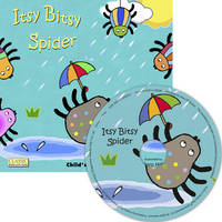 Itsy Bitsy Spider - Classic Books with Holes UK Soft Cover with CD