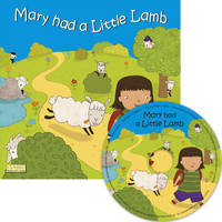 Mary had a Little Lamb - Classic Books with Holes UK Soft Cover with CD