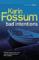 Bad Intentions - Inspector Sejer (Paperback)