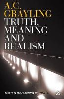 Truth, Meaning and Realism: Essays in the Philosophy of Thought (Paperback)
