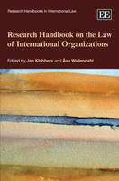 Research Handbook on the Law of International Organizations - Research Handbooks in International Law Series (Hardback)