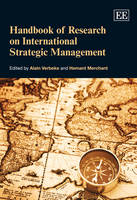 Handbook of Research on International Strategic Management - Research Handbooks in Business and Management Series (Hardback)