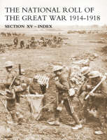 National Roll of the Great War Index (Paperback)