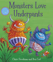 Monsters Love Underpants (Paperback)