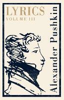 Lyrics: Volume 3 (1824-29) (Paperback)