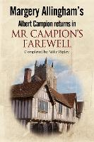 Mr Campion's Farewell (Paperback)