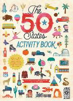 The 50 States: Activity Book: Maps of the 50 States of the USA - The 50 States (Paperback)