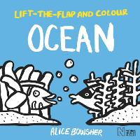 Lift-the-flap and Colour Ocean - Lift-the-flap and Colour (Paperback)