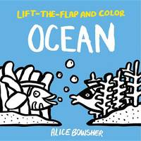 Lift-The-Flap and Color: Ocean - Lift-The-Flap and Color (Paperback)