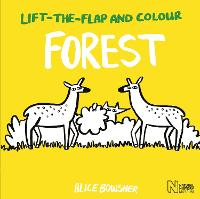 Lift-the-flap and Colour Forest - Lift-the-flap and Colour (Paperback)