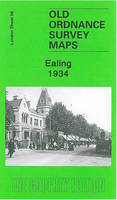 Ealing 1934: London Sheet 56.4 - Old Ordnance Survey Maps of London (Sheet map, folded)