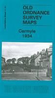 Carmyle 1934: Lanarkshire Sheet 11.01 - Old Ordnance Survey Maps of Lanarkshire (Sheet map, folded)