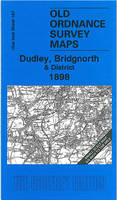 Dudley, Bridgnorth and District 1898: One Inch Sheet 167 - Old Ordnance Survey Maps - Inch to the Mile (Sheet map, folded)