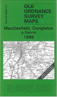 Macclesfield, Congleton & District 1898: One Inch Sheet 110 - Old Ordnance Survey Maps - Inch to the Mile (Sheet map, folded)
