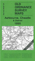 Ashbourne, Cheadle and District 1895: One Inch Sheet 124 - Old Ordnance Survey Maps - Inch to the Mile (Sheet map, folded)