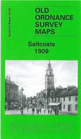 Saltcoats 1909: Ayrshire Sheet 16.06 - Old Ordnance Survey Maps of Ayrshire (Sheet map, folded)