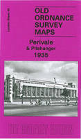 Perivale and Pitshanger 1935: London Sheet 45.4 - Old Ordnance Survey Maps of London (Sheet map, folded)
