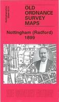 Nottingham (Radford) 1899: Nottingham Sheet 42.01 - Old Ordnance Survey Maps of Nottingham (Sheet map, folded)