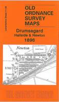 Drumsagard, Hallside & Newton 1896: Lanarkshire 11.06 - Old Ordnance Survey Maps of Lanarkshire (Sheet map, folded)