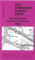 Broomhouse, Daldowie & Haughead 1896: Lanarkshire Sheet 11.02 - Old Ordnance Survey Maps of Lanarkshire (Sheet map, folded)