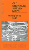 Ruislip (SE) 1940: Middlesex Sheet 10.14 - Old Ordnance Survey Maps of Middlesex (Sheet map, folded)