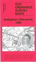Nottingham (Sherwood) 1899: Nottinghamshire Sheet 38.10 - Old Ordnance Survey Maps of Nottingham (Sheet map, folded)
