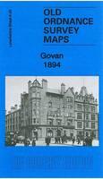 Govan 1894: Lanarkshire Sheet 06.09a - Old Ordnance Survey Maps of Lanarkshire (Sheet map, folded)