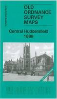 Central Huddersfield 1889: Yorkshire Sheet 246.15a - Old Ordnance Survey Maps of Yorkshire (Sheet map, folded)