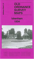Ickenham 1934: Middlesex Sheet 09.16 - Old Ordnance Survey Maps of Middlesex (Sheet map, folded)