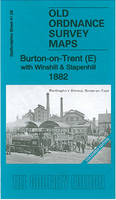 Burton-on-Trent (E) with Winshaill & Stapenhill 1882: Staffordshire Sheet 41.09 - Old Ordnance Survey Maps of Staffordshire (Sheet map, folded)