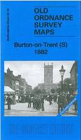 Burton-on-Trent (S) 1882: Staffordshire Sheet 40.16 - Old Ordnance Survey Maps of Staffordshire (Sheet map, folded)