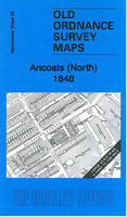 Ancoats (North) 1848: Manchester Large Scale Sheet 25 - Old Ordnance Survey Maps - Yard to the Mile (Sheet map, folded)