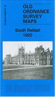 South Belfast 1920: County Antrim Sheet 61.13 - Old Ordnance Survey Maps of County Antrim (Sheet map, folded)